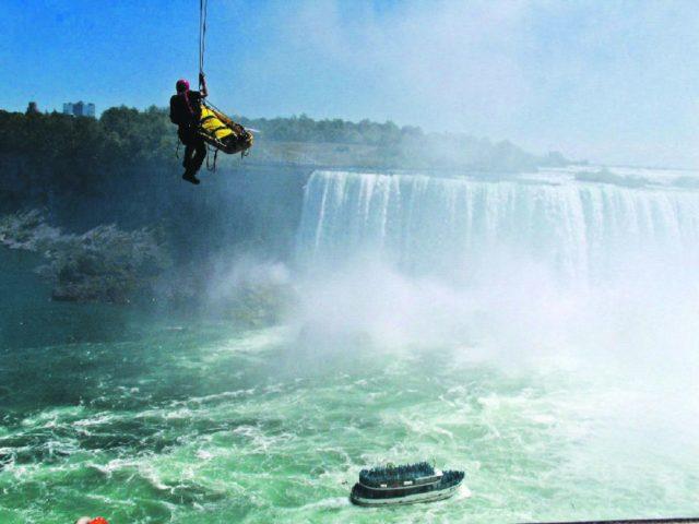 What If You Fell Into Niagara Falls?